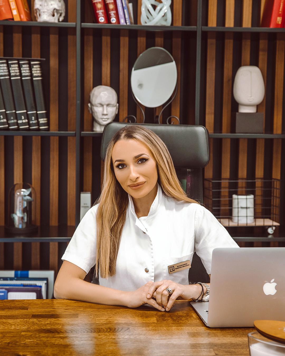 Dr Aleksandra Markoski Smiljković - Rejuva ordinacija Beograd
